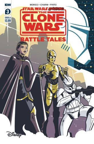 Adventures: The Clone Wars: Battle Tales #3