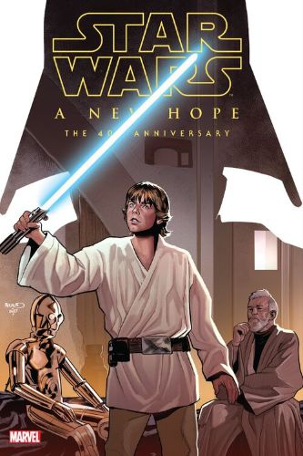 Star Wars: A New Hope: Hardcover: The 40th Anniversary