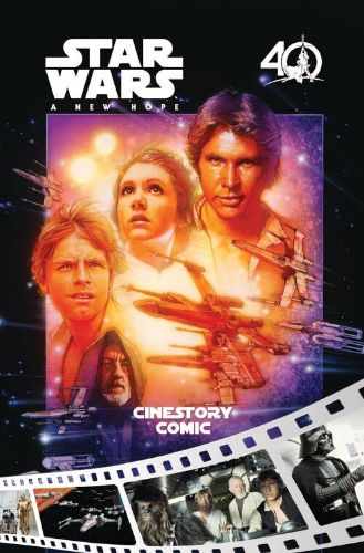 Star Wars: A New Hope Cinestory Comic