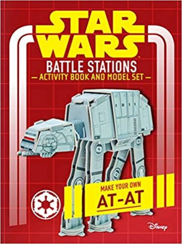 Battle Stations Activity Book and Model: Make Your Own At-At