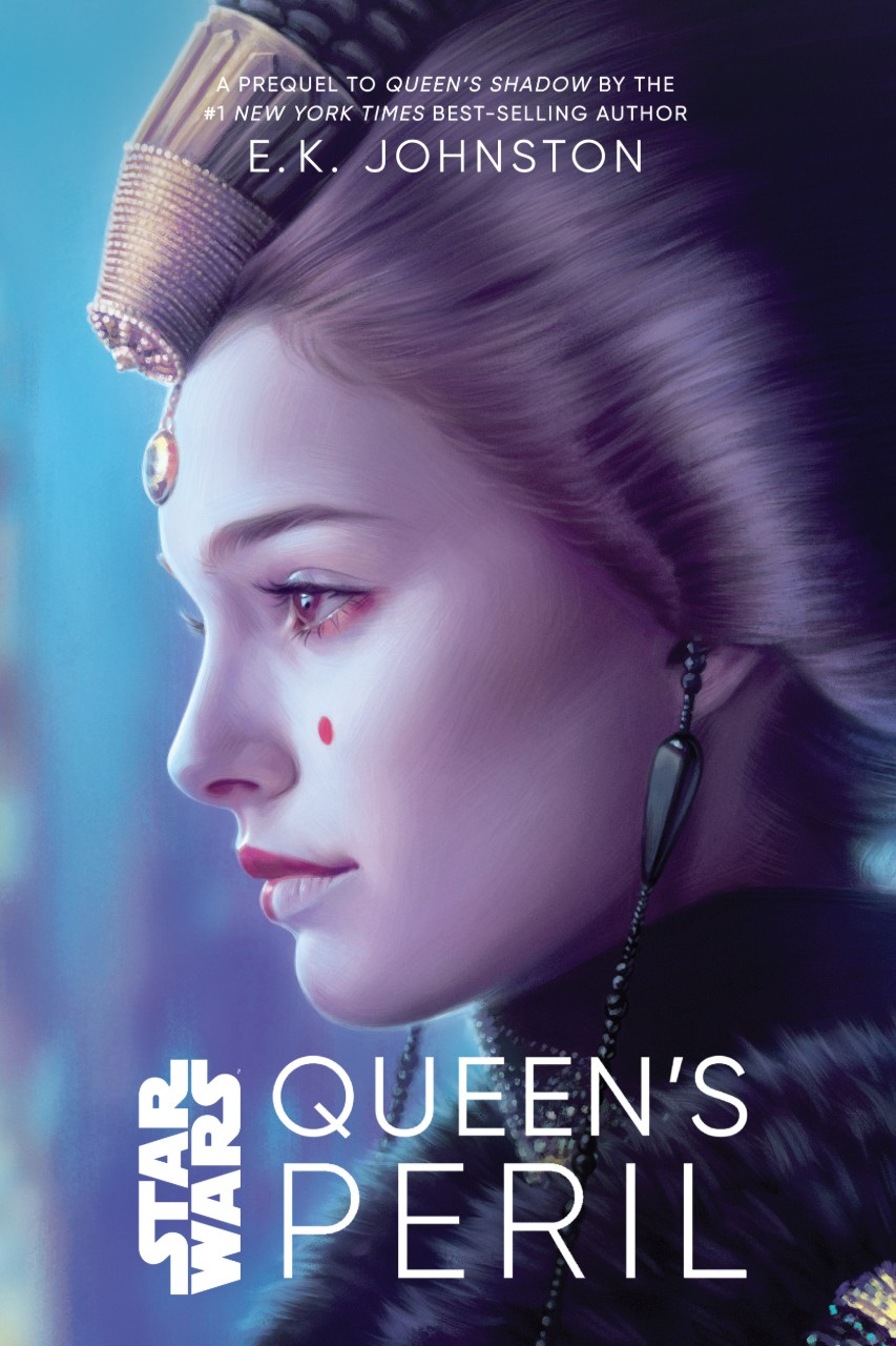 Queen's Peril Cover from Disney Lucasfilm