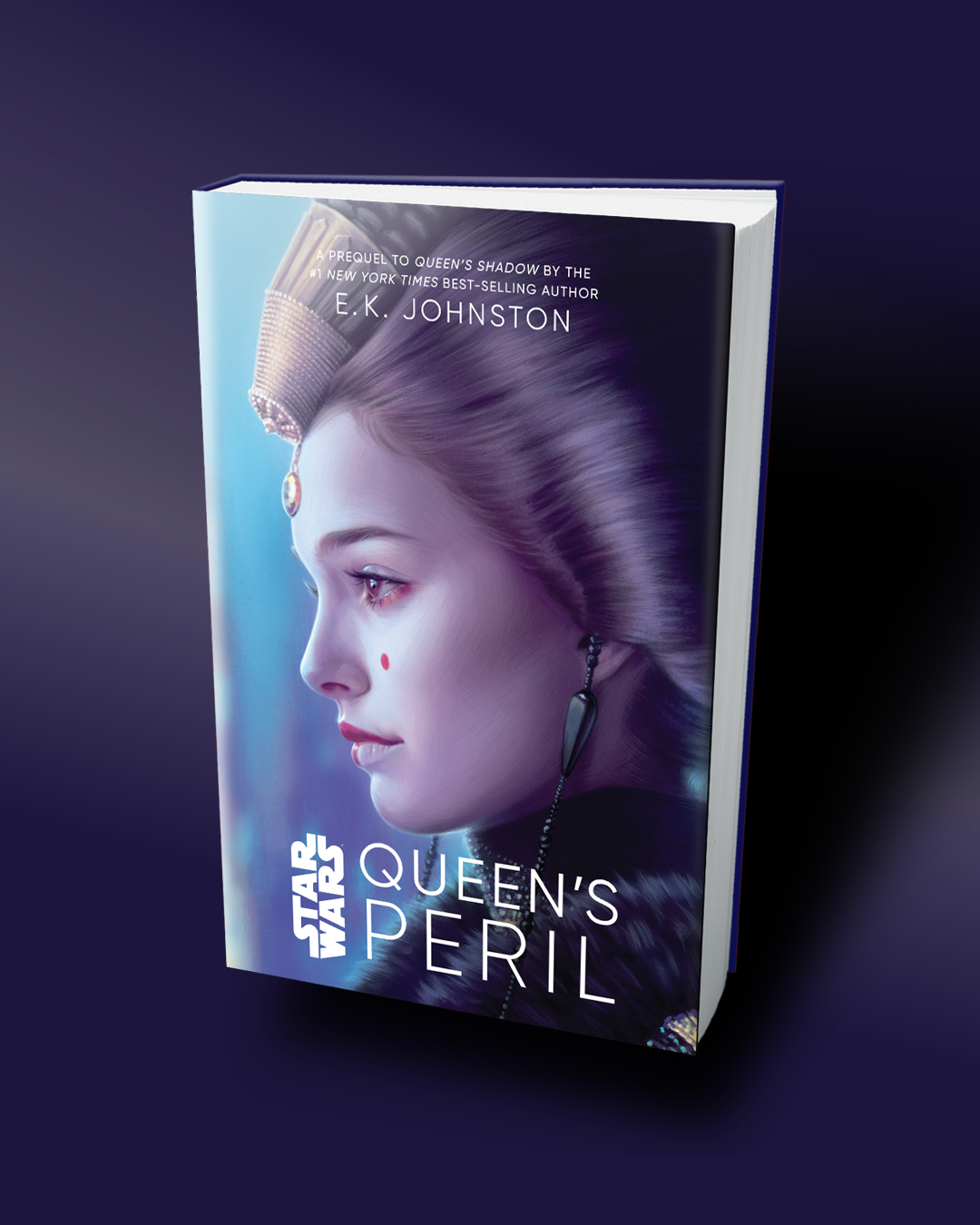Queen's Peril 3D Cover from Disney Lucasfilm