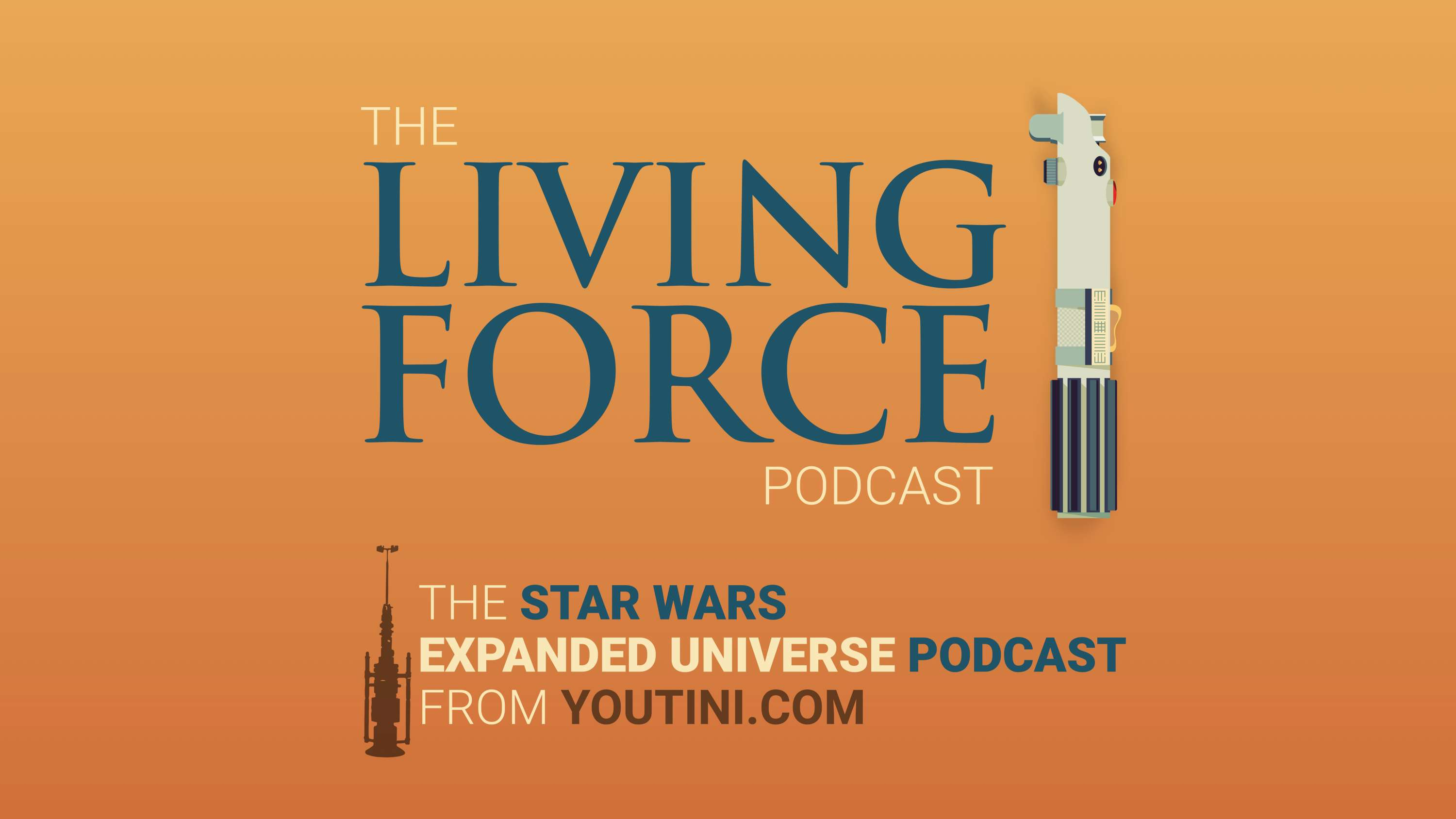The Living Force Podcast logo from Youtini