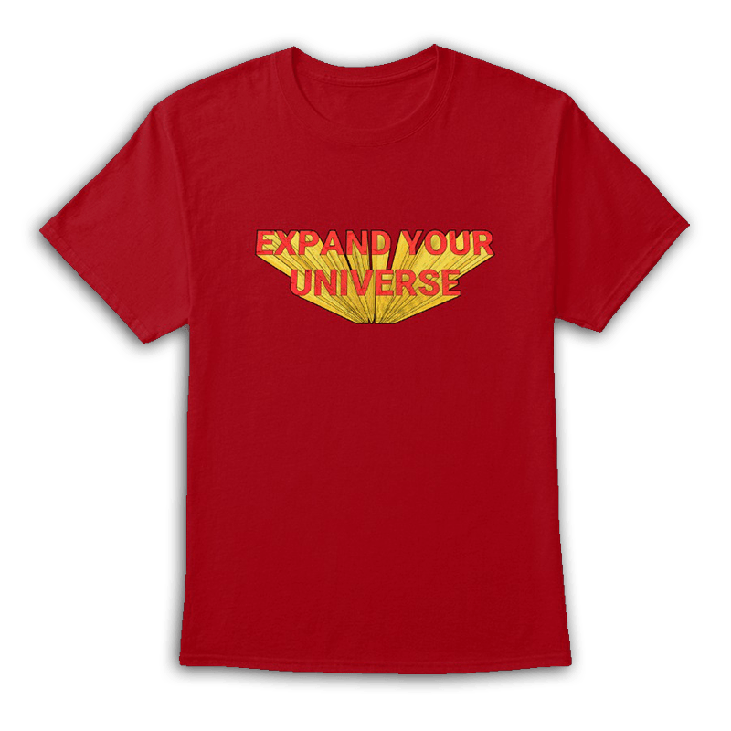 Expand Your Universe Red Tee