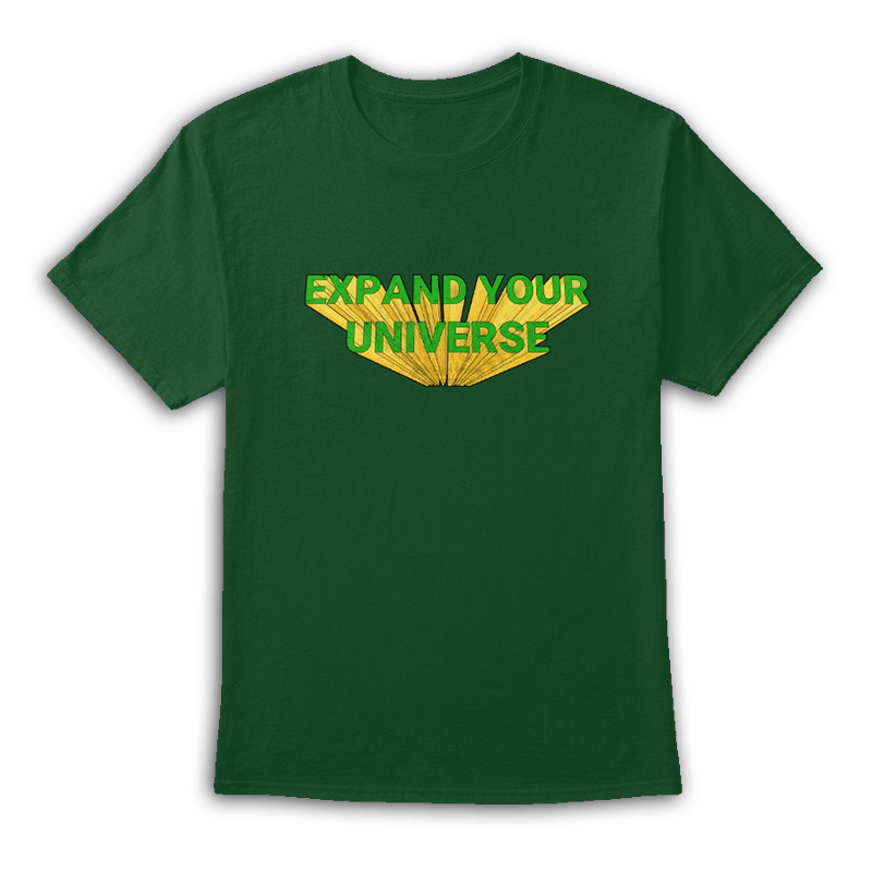 Expand Your Universe Green Tee
