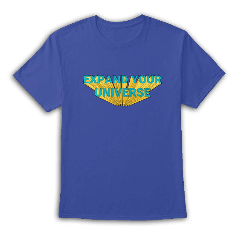 Expand Your Universe Blue Tee