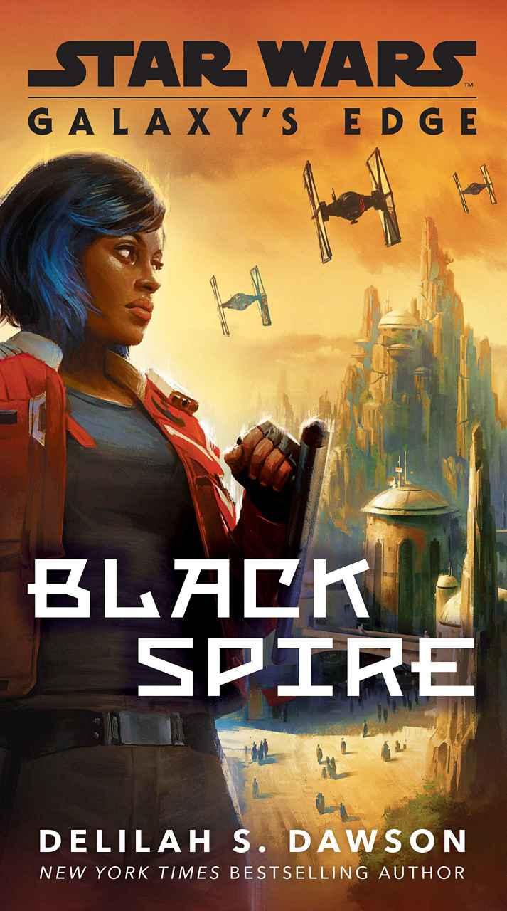Black Spire Paperback Cover