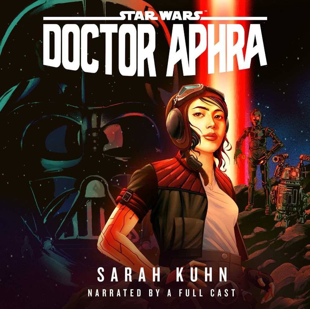Doctor Aphra cover from Penguin Random House Audio