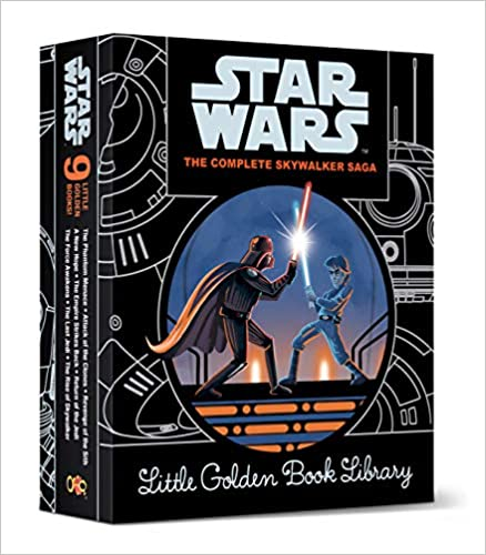 Star Wars: Episodes I - IX (Little Golden Book)