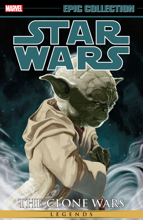 Clone Wars Epic Collection Vo. 1 cover