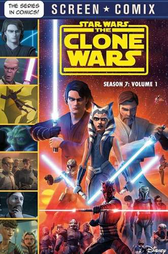 The Clone Wars: Season 7: Volume 1: Screen Comix