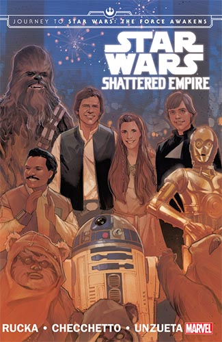 Star Wars: Shattered Empire cover