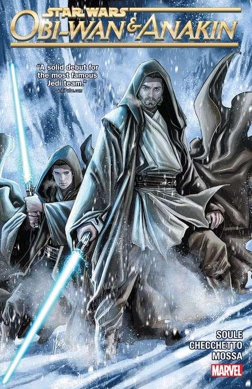 Obi-Wan & Anakin cover