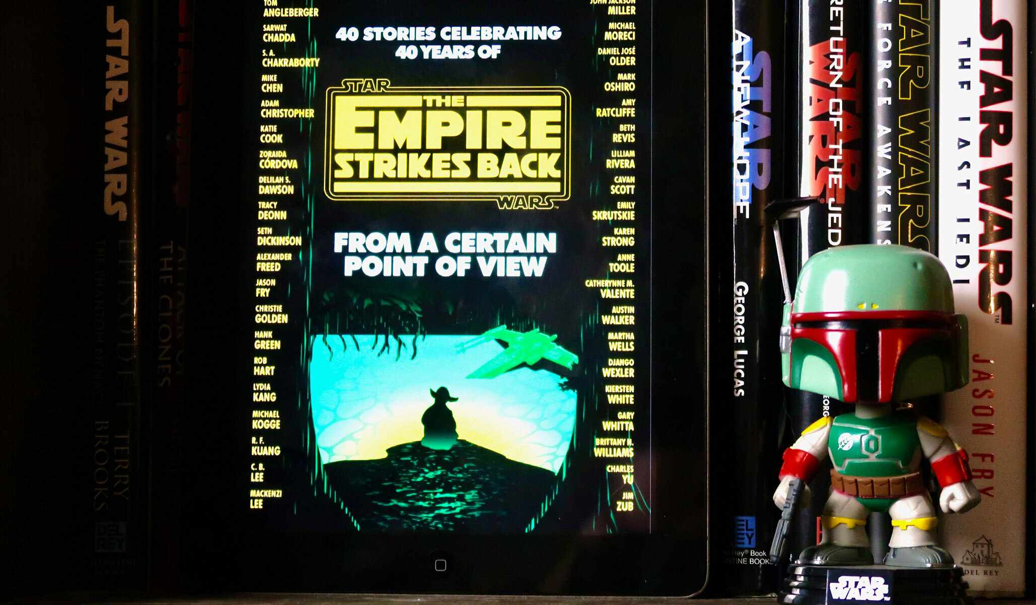 From a Certain point of View: Empire Strikes Back and Boba Fett Funko