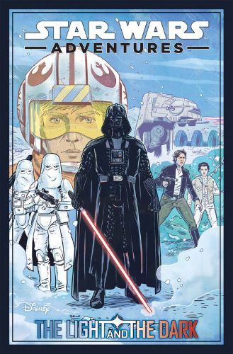 Star Wars Adventures (2020): Trade Paper Back Volume 01: The Light and the Dark