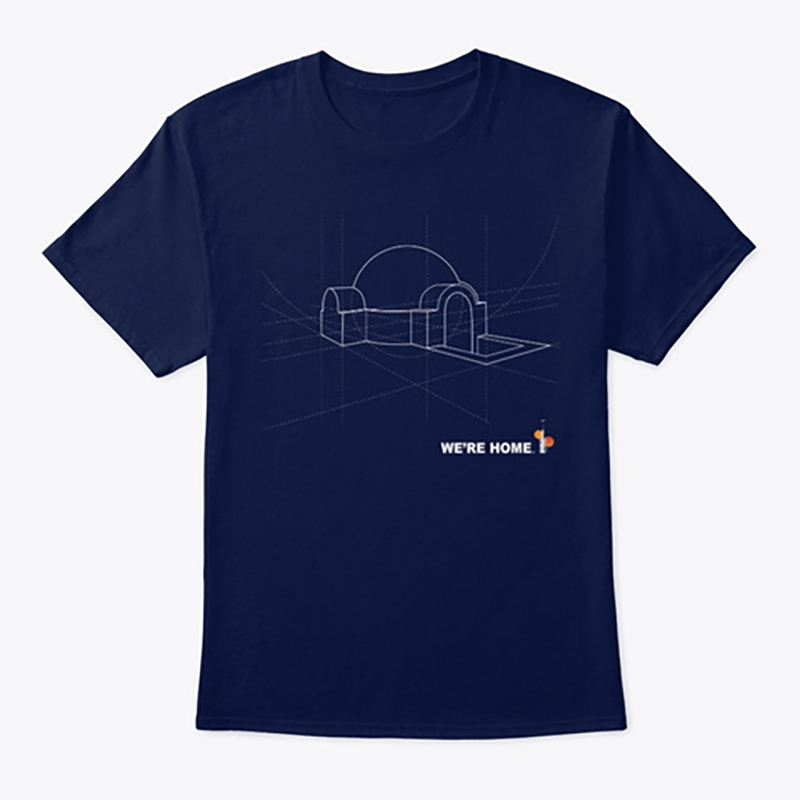 Home Blueprint Tee