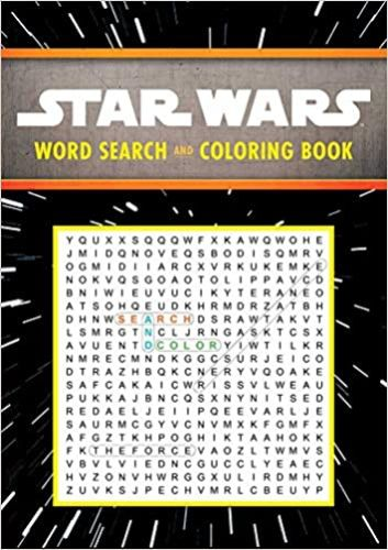 Word Search and Coloring Book