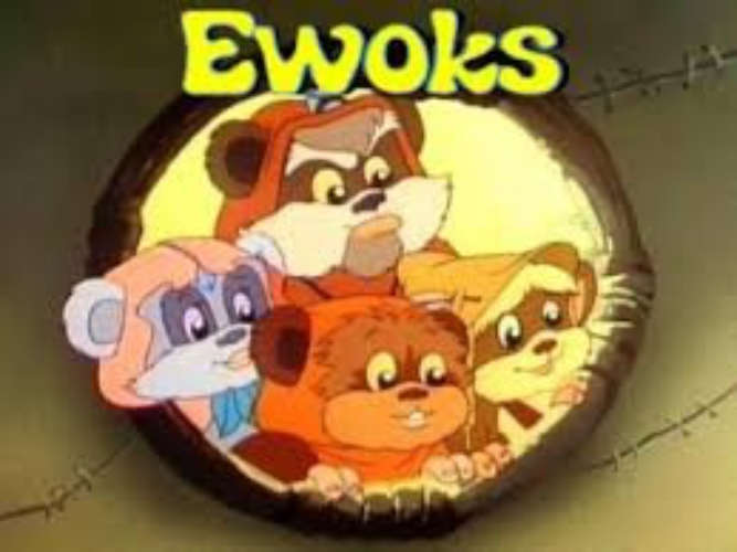 Ewoks Animated Series S02E06: The Totem Master