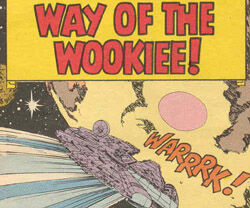 Way of the Wookiee!