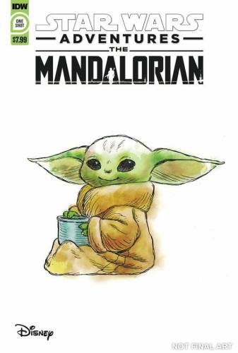 Star Wars Adventures: The Mandalorian one-shot