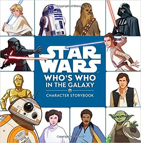 Who's Who in the Galaxy: A Character Storybook