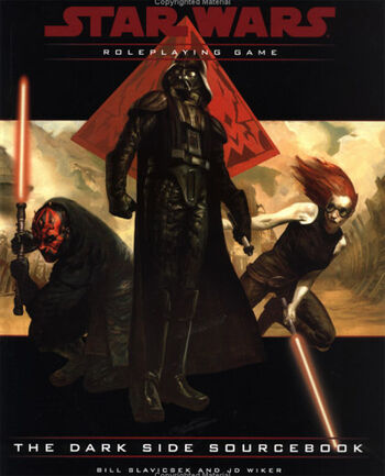 Star Wars Roleplaying Game: The Dark Side Sourcebook