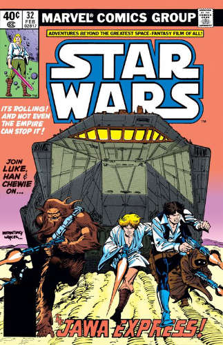 Star Wars (1977) #32: The Jawa Express