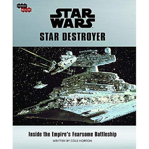 Star Destroyer Book and 3D Wood Model
