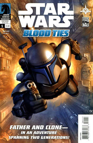 Blood Ties: A Tale of Jango and Boba Fett #1