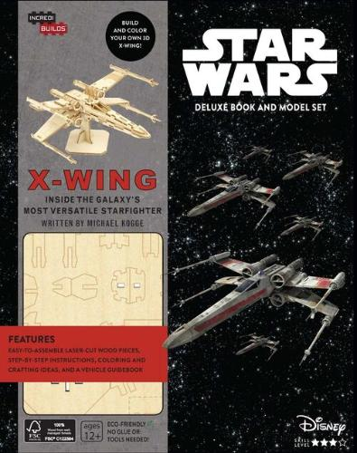 X-Wing Deluxe Book and Model Set
