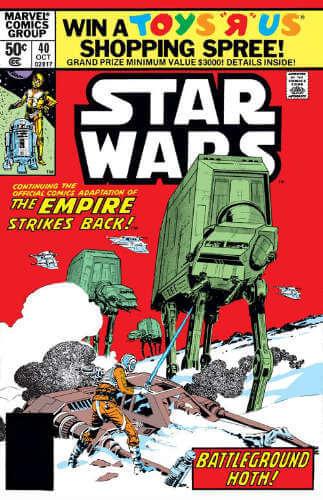 Star Wars (1977) #40: The Empire Strikes Back: Battleground Hoth