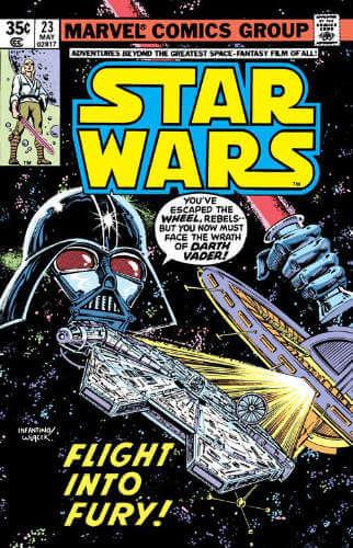 Star Wars (1977) #23: Flight Into Fury