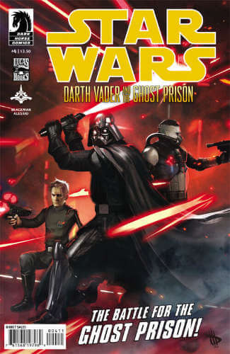 Darth Vader and the Ghost Prison #4