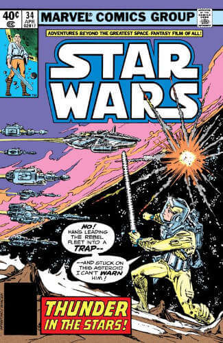 Star Wars (1977) #34: Thunder in the Stars
