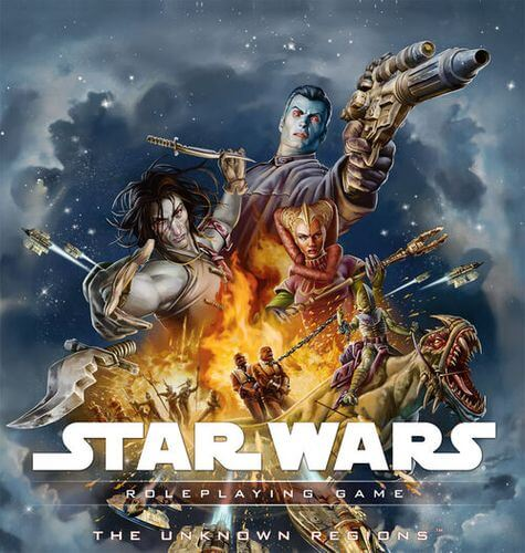 Star Wars Roleplaying Game: The Unknown Regions