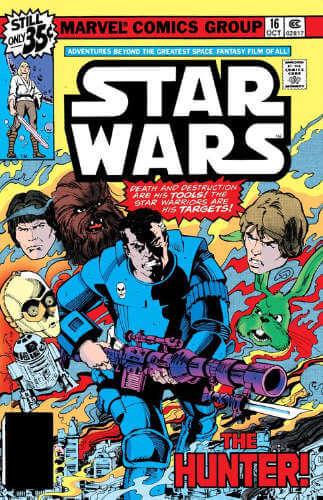 Star Wars (1977) #16: The Hunter