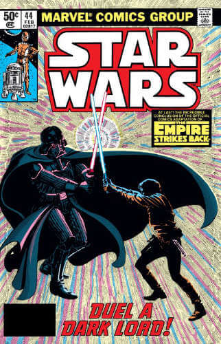 Star Wars (1977) #44: The Empire Strikes Back: Duel a Dark Lord