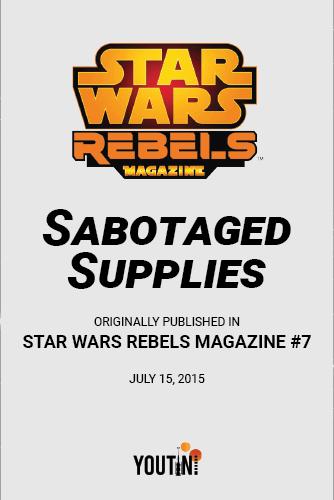 Sabotaged Supplies