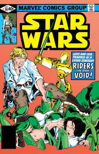 Star Wars (1977) #38: Riders in the Void