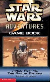 Episode II Adventures Game Book 4: Jango Fett vs. the Razor Eaters