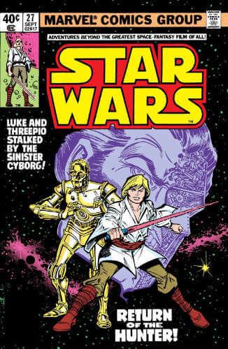 Star Wars (1977) #27: Return of the Hunter
