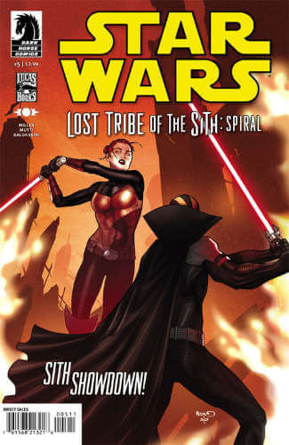 Lost Tribe of the Sith: Spiral #5