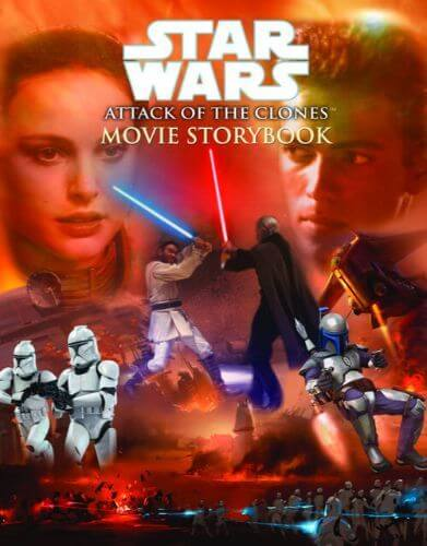 Star Wars: Attack of the Clones Movie Storybook