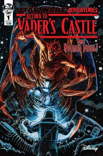 Star Wars Adventures: Return to Vader's Castle #1: Beware the Horned Devil!