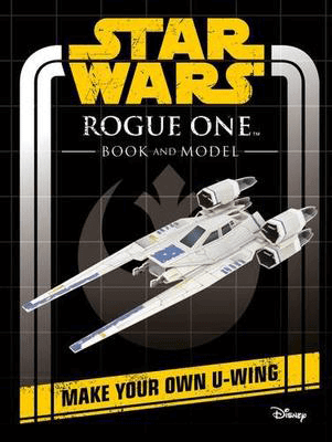 Rogue One Book and Model