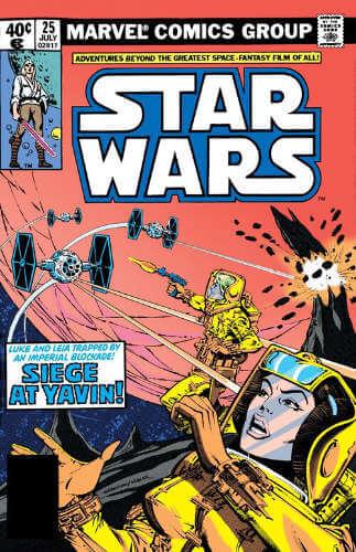 Star Wars (1977) #25: Siege at Yavin