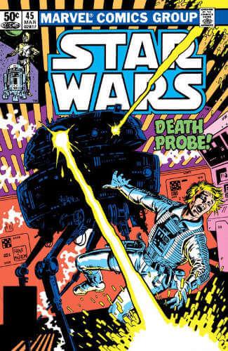 Star Wars (1977) #45: Death Probe