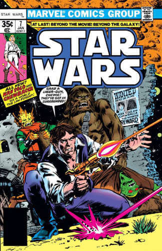 Star Wars (1977) #07: New Planets, New Perils!