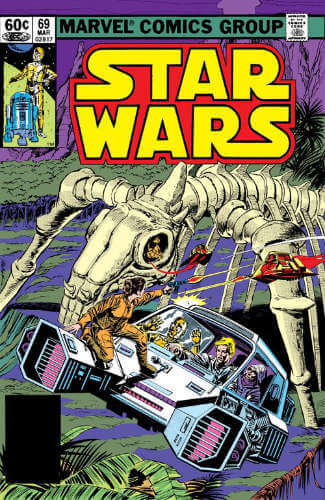 Star Wars (1977) #69: Death in the City of Bone
