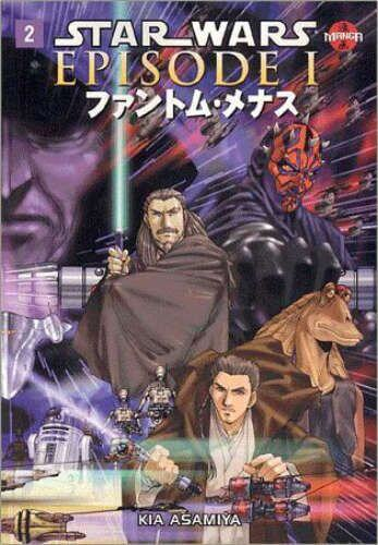 Star Wars Manga: The Phantom Menace #2